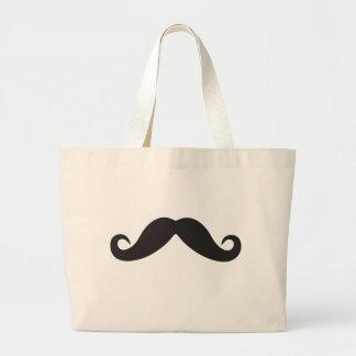 Plantilla de Qpc del bigote Bolsa Tela Grande