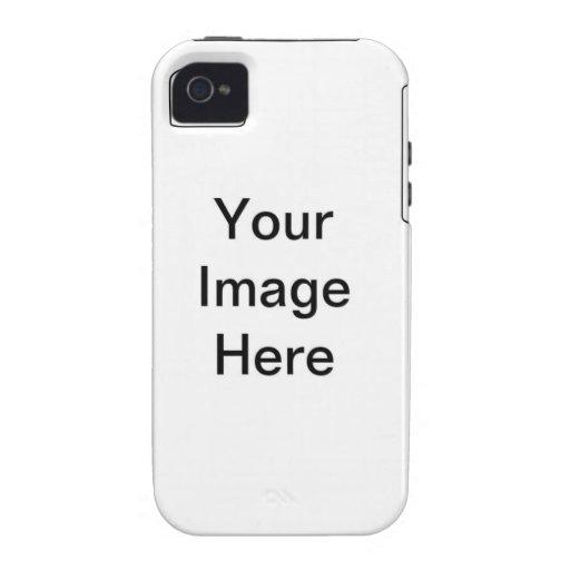 Plantilla del ambiente QPC de Iphone 4 Vibe iPhone 4 Funda