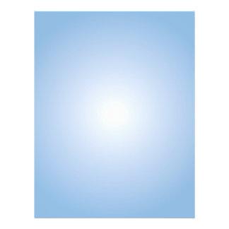 Plantilla del aviador: Pendiente radial: Azul Tarjetas Informativas