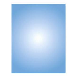 Plantilla del aviador: Pendiente radial: Azul Flyer Personalizado