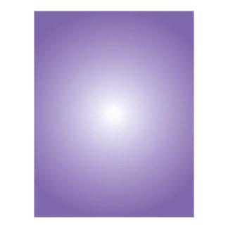 Plantilla del aviador: Pendiente radial: Púrpura Tarjeta Publicitaria