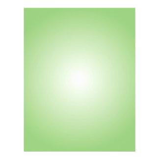 Plantilla del aviador: Pendiente radial: Verde Tarjetones