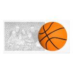 Plantilla del baloncesto de All Star Photocard Tarjetas Fotográficas