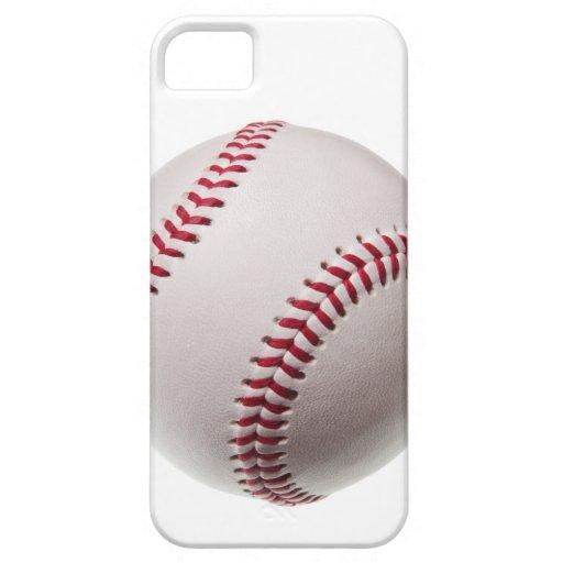 Plantilla del béisbol - espacio en blanco modifica iPhone 5 Case-Mate funda