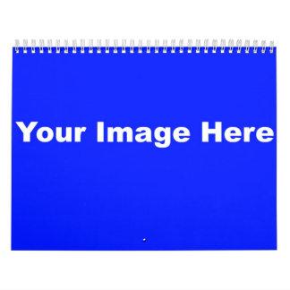 plantilla del calendario 2011 12month