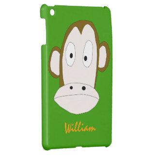 Plantilla del caso del iPad del chimpancé mini iPad Mini Fundas