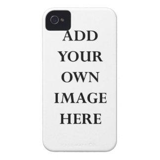 plantilla del caso del iPhone 4 apenas allí iPhone 4 Case-Mate Fundas