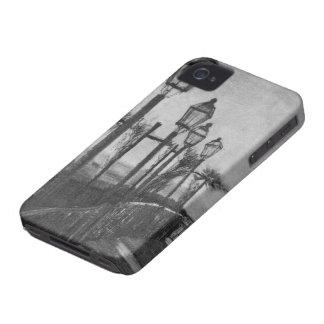 Plantilla del caso del iPhone 4 de la bella arte d iPhone 4 Cobertura