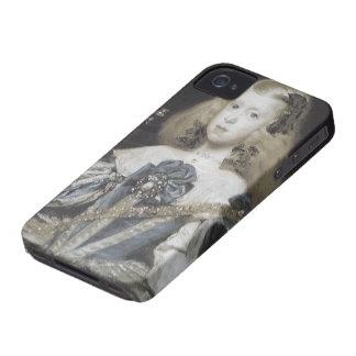 Plantilla del caso del iPhone 4 de la bella arte d iPhone 4 Case-Mate Protectores