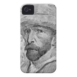 Plantilla del caso del iPhone 4 de la bella arte d Case-Mate iPhone 4 Protectores
