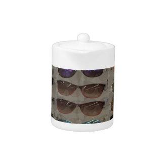 Plantilla del complemento de las gafas de las