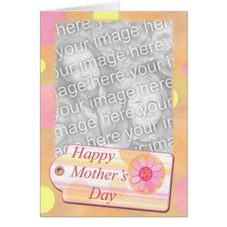 Plantilla del día de madre felicitaciones