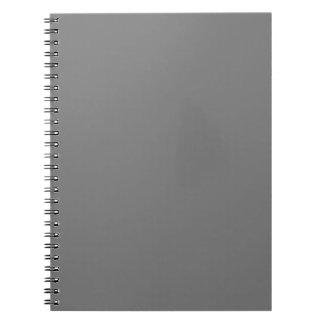 Plantilla del espacio en blanco de la tendencia de libreta espiral