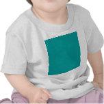 Plantilla del fondo de la turquesa del color sólid camiseta