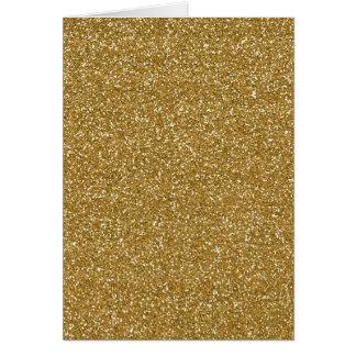 Plantilla del fondo del brillo del oro tarjeta pequeña