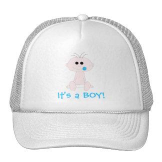 Plantilla del gorra del bebé