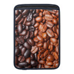Plantilla del grano de café - modificada para requ funda para macbook air