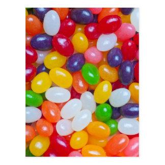Plantilla del Jellybean - Jellybeans de Pascua Postales