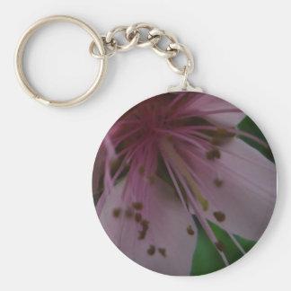 Plantilla del llavero del terraplén del flor llavero redondo tipo chapa