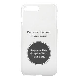 Plantilla del logotipo del negocio fundas para iPhone 7 plus