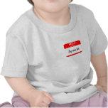 Plantilla del Nametag Camisetas