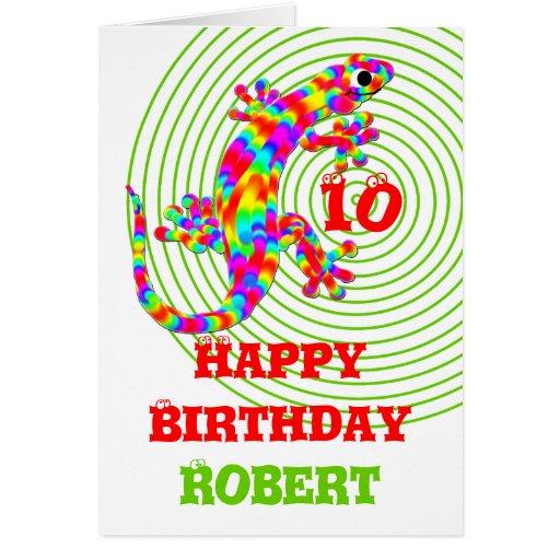Plantilla del nombre del feliz cumpleaños felicitacion