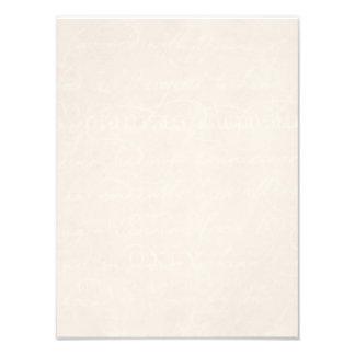 Plantilla del papel de pergamino del botánico del fotografía