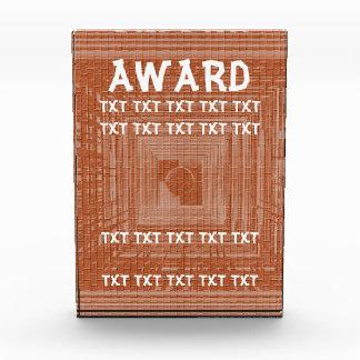 Plantilla del premio - añada - existencia de la