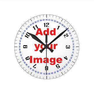 Plantilla del reloj - complejo - añada su imagen