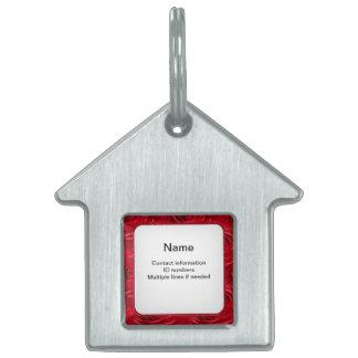 Plantilla del texto - papel pintado de centro abst placa de nombre de mascota