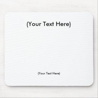 Plantilla del usuario mousepad
