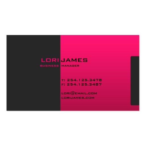 Plantilla ejecutiva elegante de la tarjeta de visi tarjeta de visita