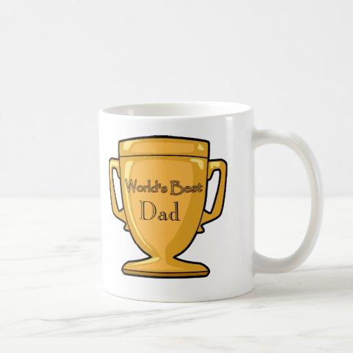 Plantilla - el mejor papá del mundo taza clásica