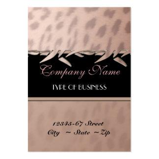 Plantilla elegante de la tarjeta de visita del est