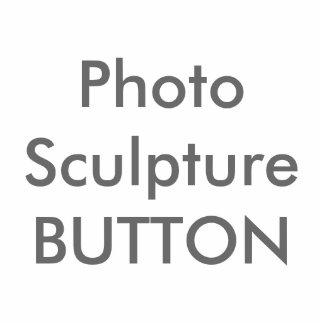 Plantilla en blanco de Btton de la escultura de Pin Fotoescultura