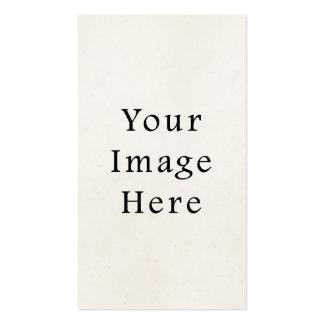 Plantilla en blanco de papel del vintage del top 1 plantilla de tarjeta personal