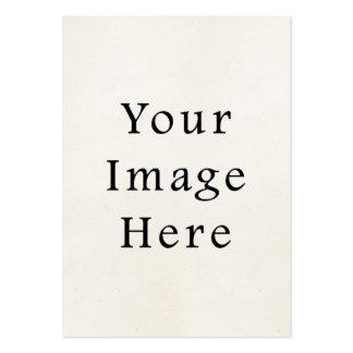 Plantilla en blanco de papel del vintage del top 1 tarjeta de negocio