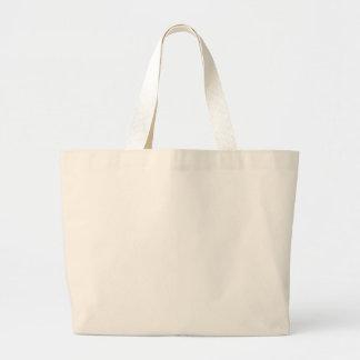 Plantilla en blanco del bolso bolsa tela grande