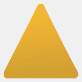 PLANTILLA en blanco del oro: Añada el texto, Calcomanías De Trianguladas