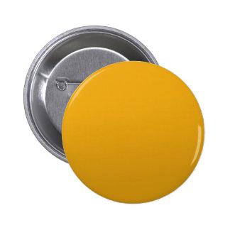 PLANTILLA en blanco del oro: Añada el texto, Pin Redondo De 2 Pulgadas