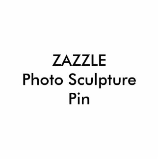 Plantilla en blanco del Pin de la escultura de Pin Fotoescultura
