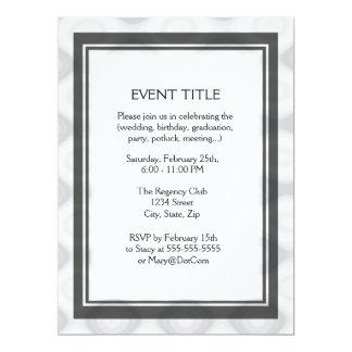 Plantilla en blanco rápida y fácil invitación personalizada