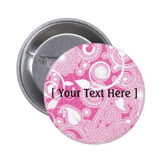 PLANTILLA en el rosa - modificado para requisitos  Pin Redondo 5 Cm