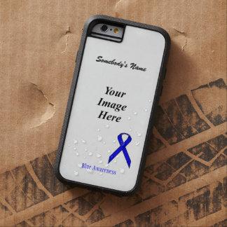 Plantilla estándar azul de la cinta de Kenneth Funda Tough Xtreme iPhone 6