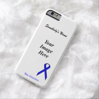 Plantilla estándar azul de la cinta funda de iPhone 6 barely there