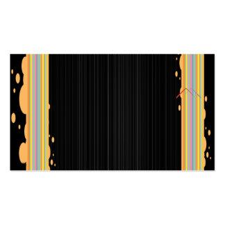 plantilla estándar elegante de la tarjeta de visit tarjetas de visita