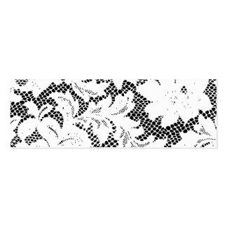 Plantilla flaca de la tarjeta de visita del cordón