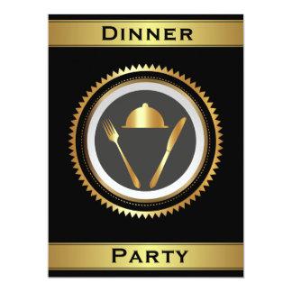 Plantilla formal de la invitación del fiesta de
