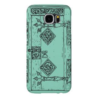 Plantilla fresca de la caja de la puerta Samsung6 Funda Samsung Galaxy S6
