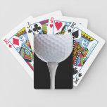 Plantilla Golfing de los deportes del fondo del ne Baraja Cartas De Poker